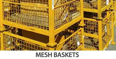 used mesh baskets