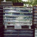 used steel corrugated bins for sale 1