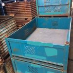 industrial vented bins for sale