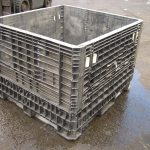 used plastic collapsible bins for sale