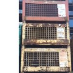 industrial steel mesh baskets for sale