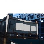 industrial steel vented bins for sale