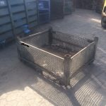 used steel wire mesh basket for sale
