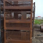 steel mesh baskets used