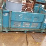 steel vented bins used