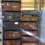 used steel corrugated bins