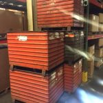 steel corrugated bins for sale