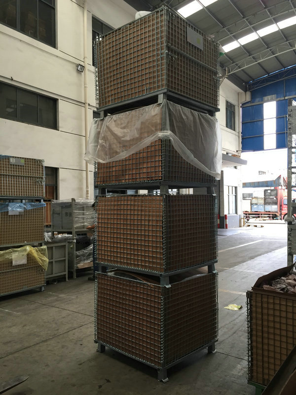 steel mesh collapsible basket for sale