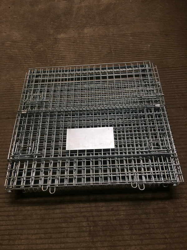 steel mesh collapsible baskets