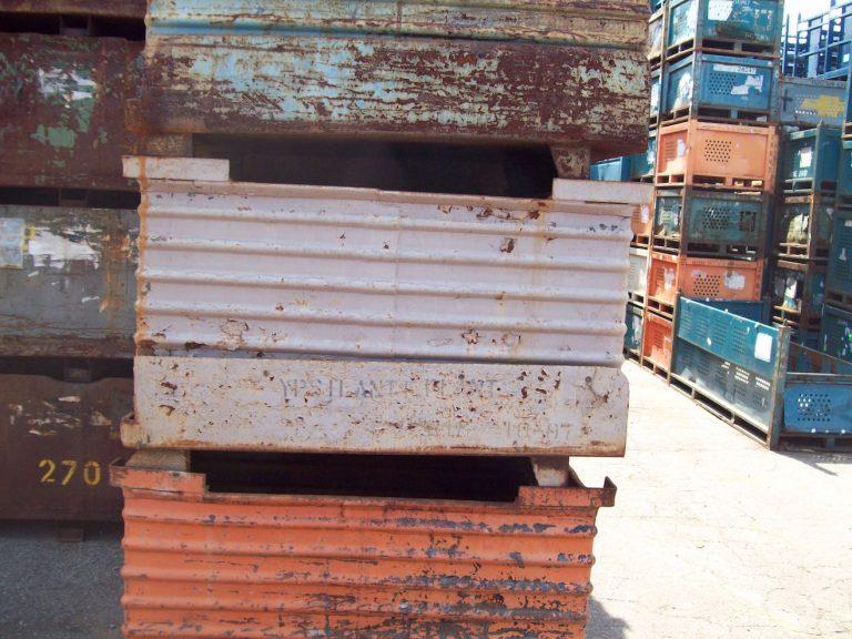 Item 633 Steel Drop Bottom Bins 33 X 48 X 24 Id